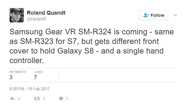 Шлем Samsung Gear VR 2 получит контроллер для одной руки