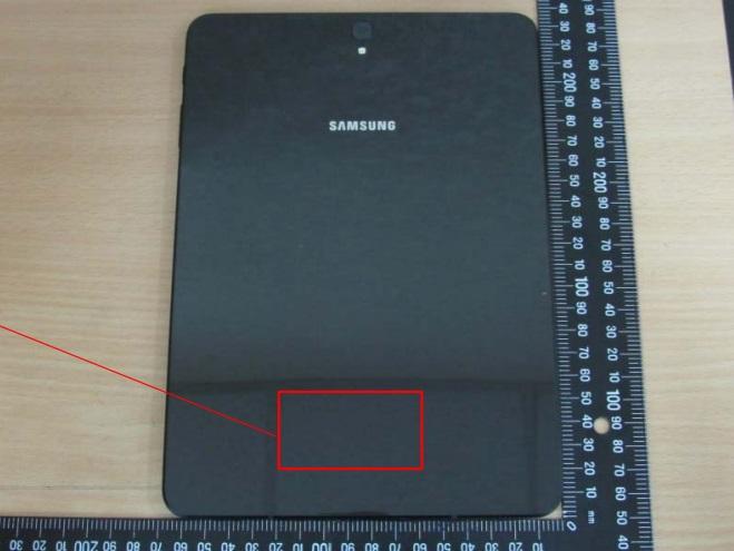 Планшет Samsung Galaxy Tab S3 получит корпус, с обеих сторон прикрытый стеклом