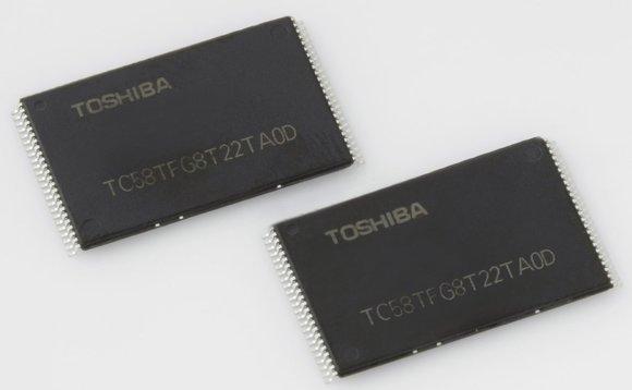 Toshiba выпустила самые ёмкие микросхемы 3D NAND BiCS
