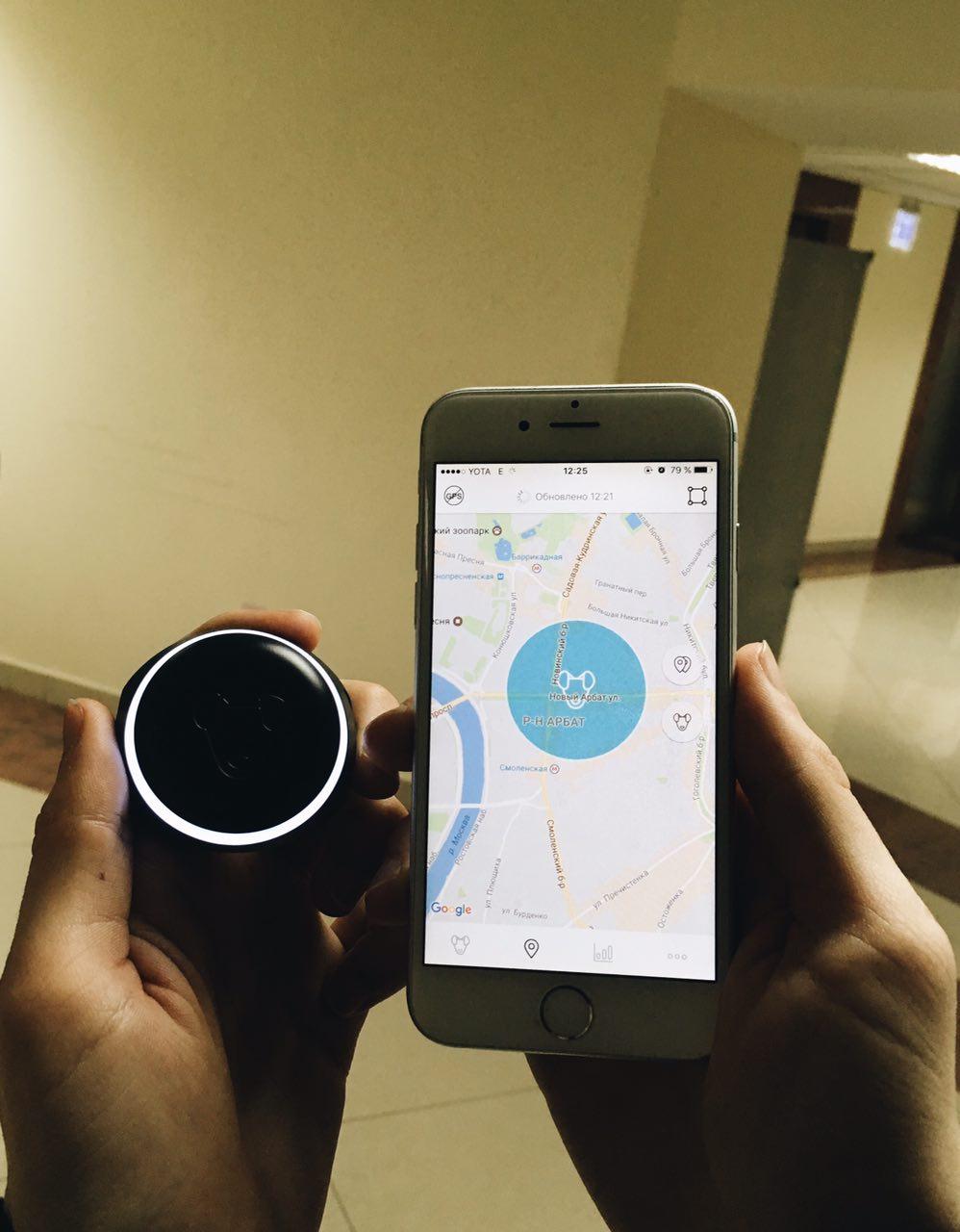 Тестируем на животных: как работает GPS-трекер для собак Mishiko в Москве? - 2