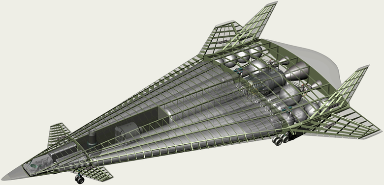 Воздушно-космические самолёты: хоть в атмосфере, хоть в вакууме - 19