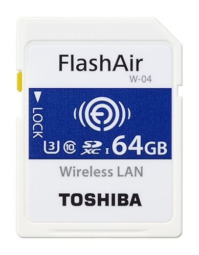 Объем карт памяти FlashAir четвертого поколения достигает 64 ГБ