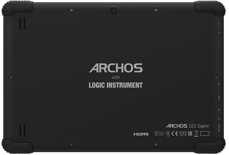 Планшет Archos 101 Saphir соответствует требованиям стандарта IP54