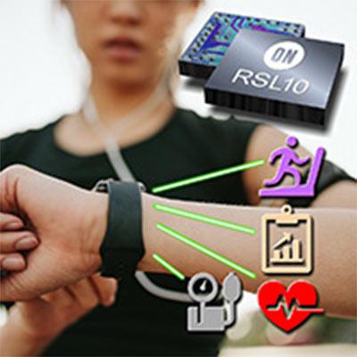SoC ON Semiconductor RSL10 предназначена для устройств носимой электроники и интернета вещей