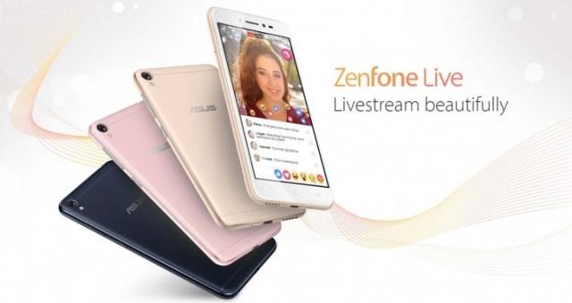 Представлен смартфон Asus ZenFone Live, ориентированный на подростков, блогеров и любителей селфи