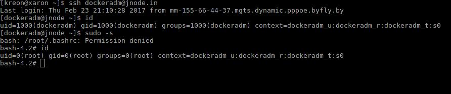 Разработка SELinux-модуля для пользователя - 12