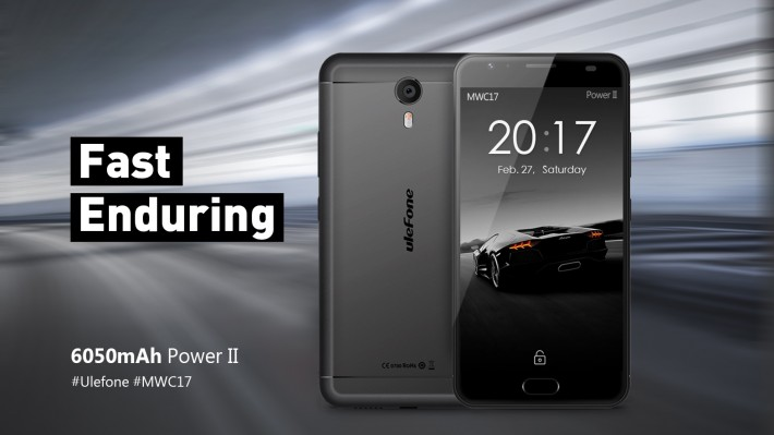 Объемы памяти в смартфоне Ulefone Power 2 существенно возрастут