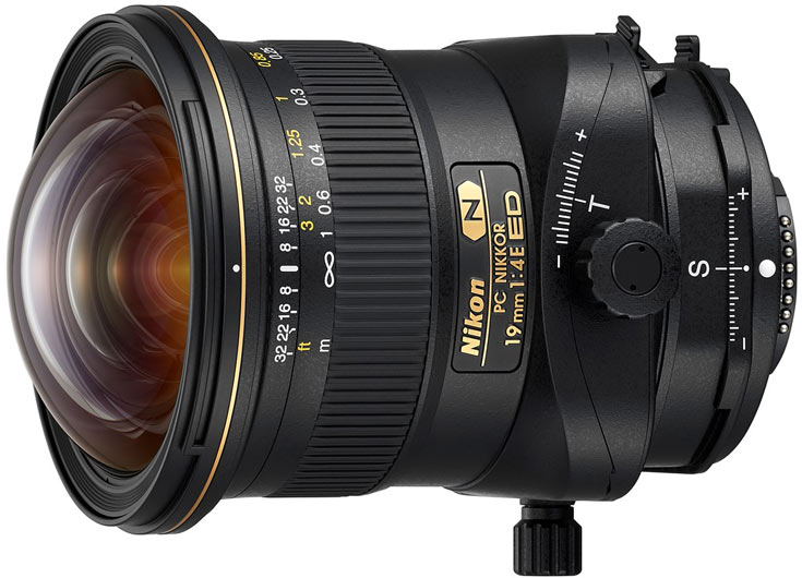 Объектив Nikon PC Nikkor 19mm f/4E ED с коррекцией перспективы