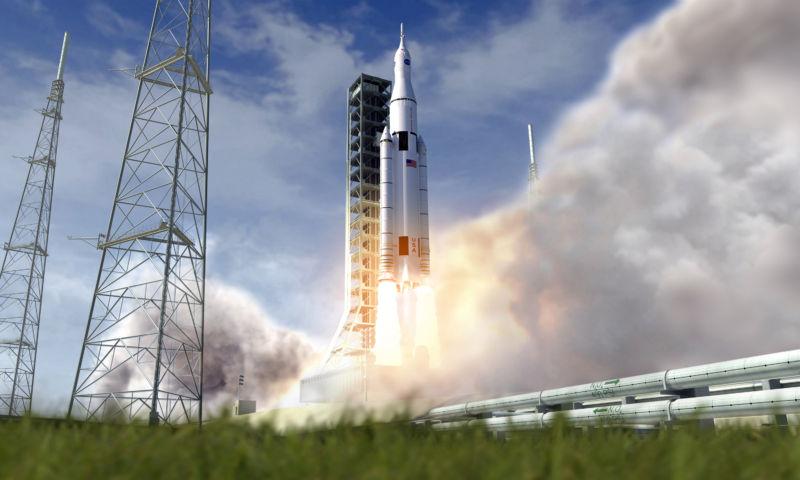 НАСА оценивает возможность первого запуска ракеты-носителя SLS с астронавтами на борту - 2