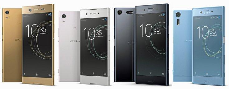 Опубликованы качественные изображения четырех новых смартфонов Sony Xperia [Обновлено] - 1