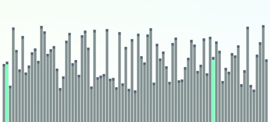 Визуализация алгоритмов сортировки обменом на JavaScript - 1