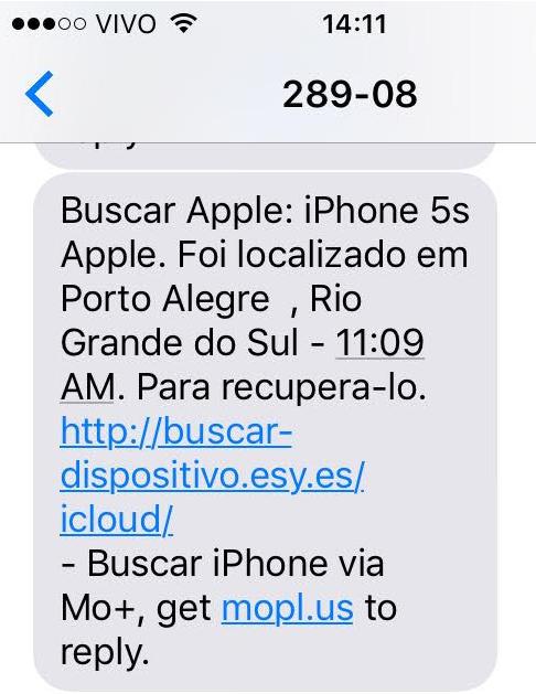 Воры телефонов в Бразилии начали использовать фишинг для кражи данных iCloud - 2