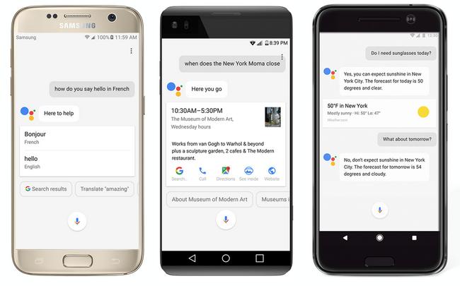 Google Assistant появится на самых разных смартфонах с ОС Android