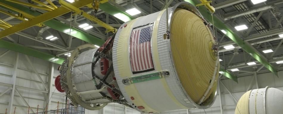 Пакет новостей по SLS и кораблю Orion - 3