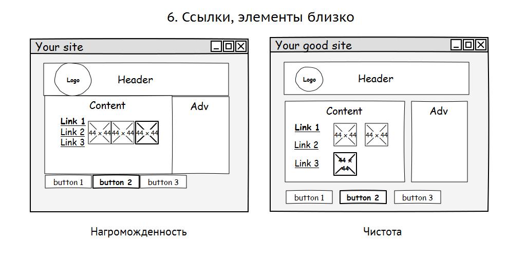 10 грехов в системах навигации сайтов - приложений - 6