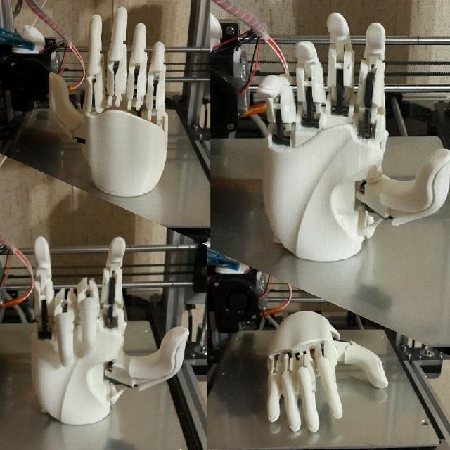 Робот промоутер — Oscar. Манипулятор - 2