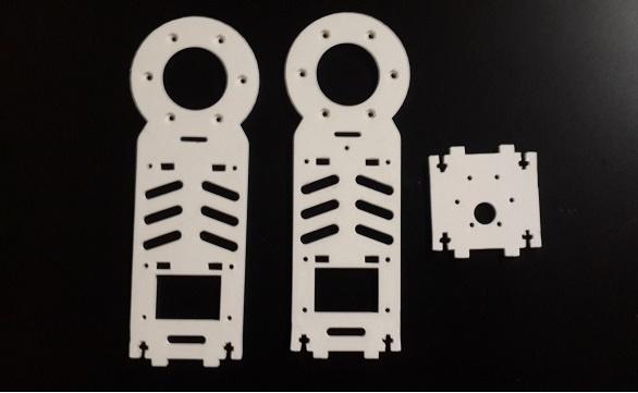 Робот промоутер — Oscar. Манипулятор - 8