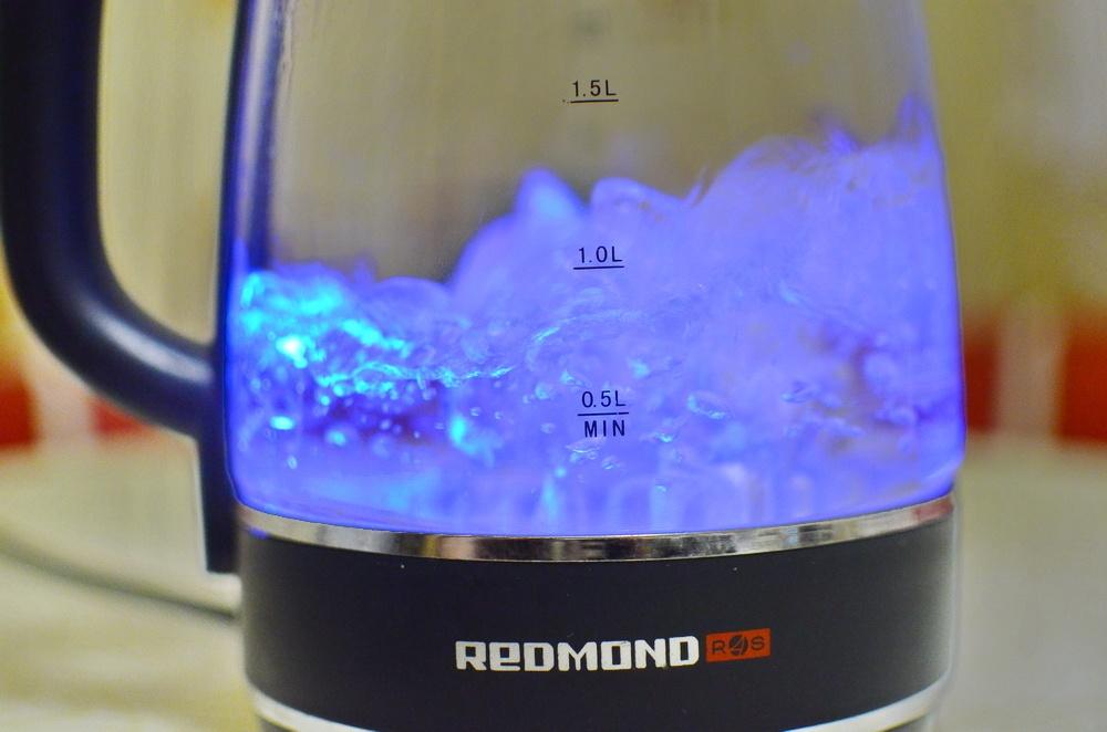 Умный чайник с разноцветной подсветкой: обзор REDMOND SkyKettle G200S - 24