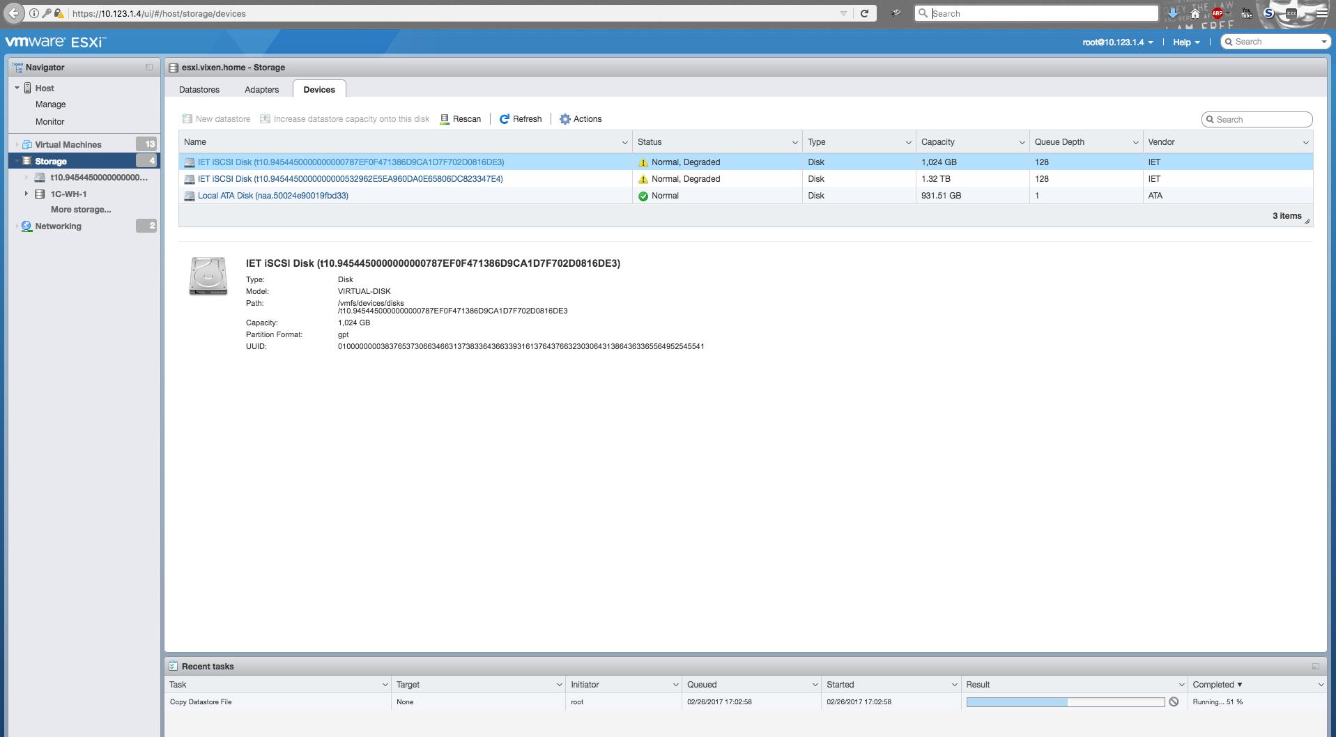 Восстановление хранилища данных и VMFS разделов. Поднимая EMC iomega с того свету… - 3