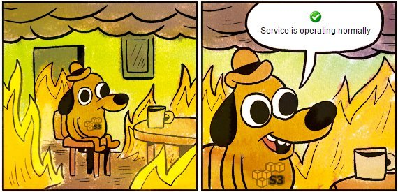 Amazon S3 около трех-четырех часов работал с перебоями, Medium, Slack, Coursera, Trello лежали - 1