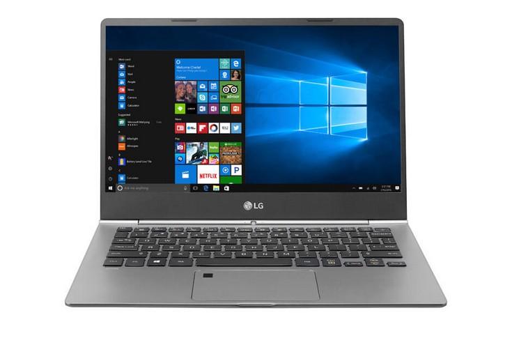 LG представила три новых ноутбука Gram