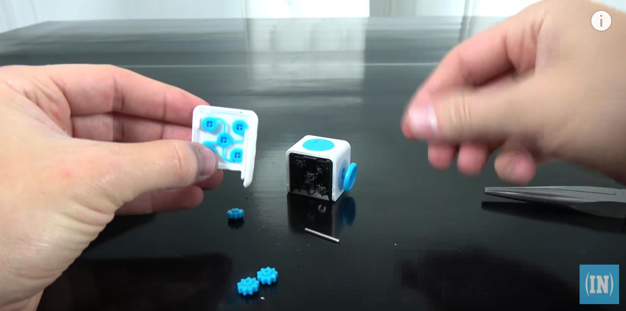 Что внутри Fidget Cube: оригинал или подделка - 4
