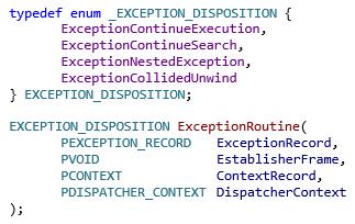 Исключения в Windows x64. Как это работает. Часть 2 - 5