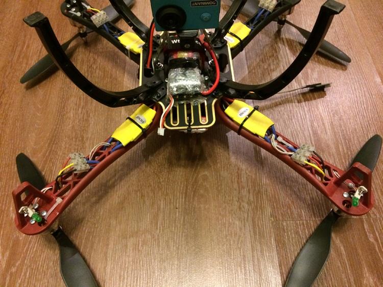 Квадрокоптер на MultiWii SE v2.5 — от задумки до первого полёта - 12