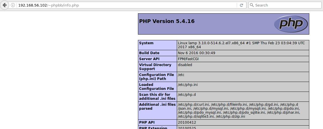 Настройка окружения SELinux на примере LAMP-сервера - 5
