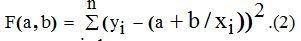 Простая программа на Python для гиперболической аппроксимации статистических данных - 3
