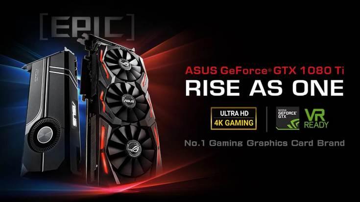 Asus приготовила оригинальные варианты GeForce GTX 1080 Ti