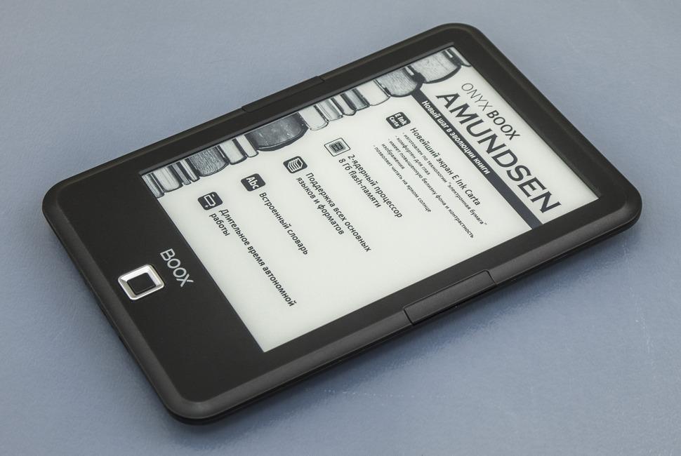 Обзор ONYX BOOX Amundsen — E-Ink книга на Android без излишеств - 2