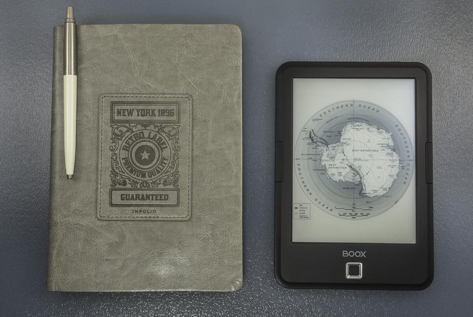 Обзор ONYX BOOX Amundsen — E-Ink книга на Android без излишеств - 4