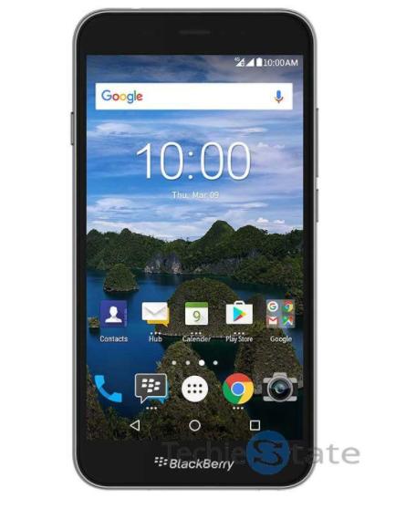 Опубликовано официальное изображение смартфона Blackberry Aurora