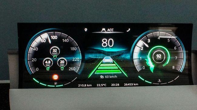 Панели OLED начнут активно использовать в автомобильной промышленности в следующем году