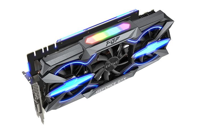Появление Zotac GeForce GTX 1080 Ti PGF на китайском рынке ожидается в текущем месяце