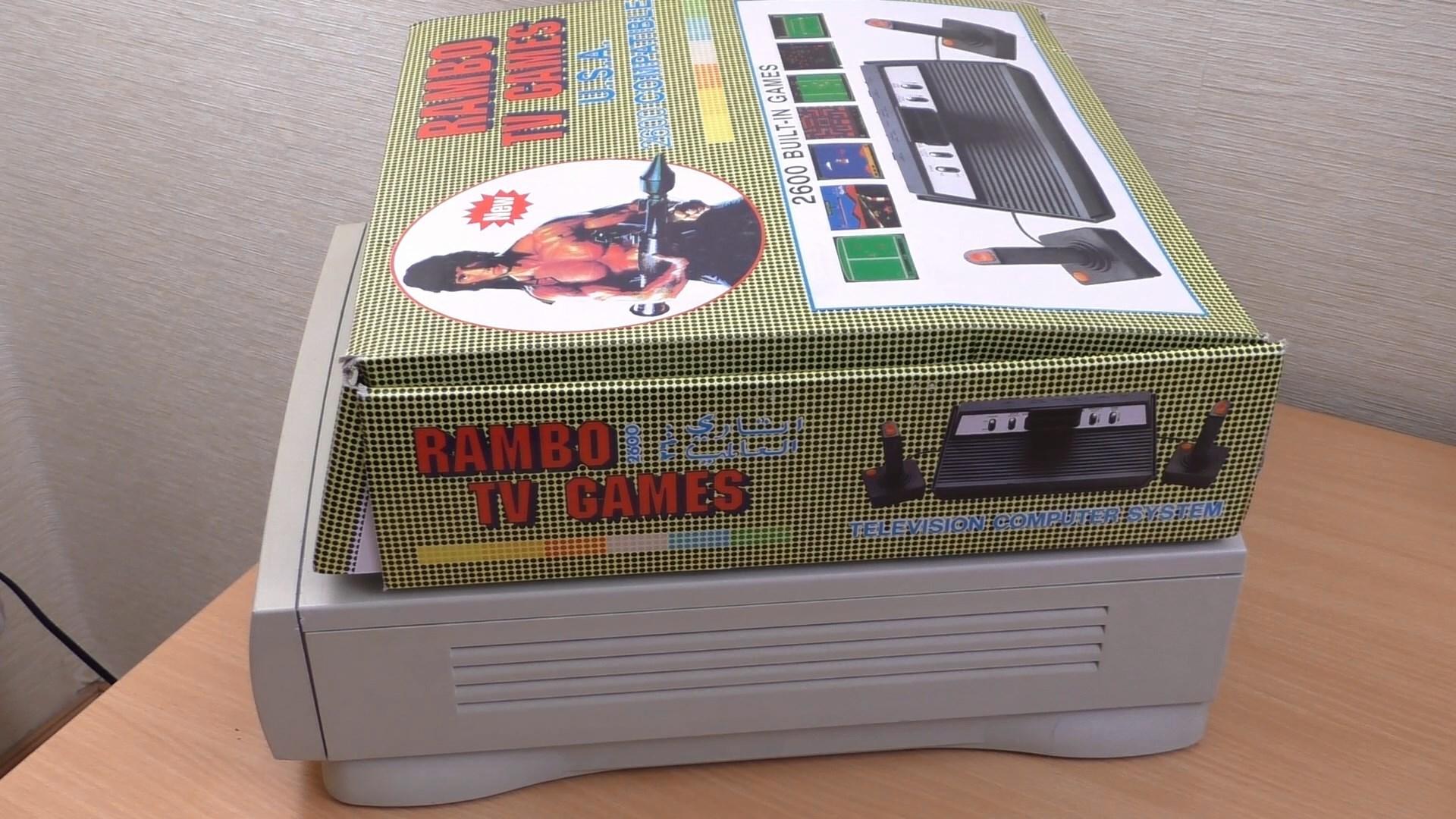 Rambo TV Games (Atari 2600) [статья с кучей фото и капелькой видео] - 3