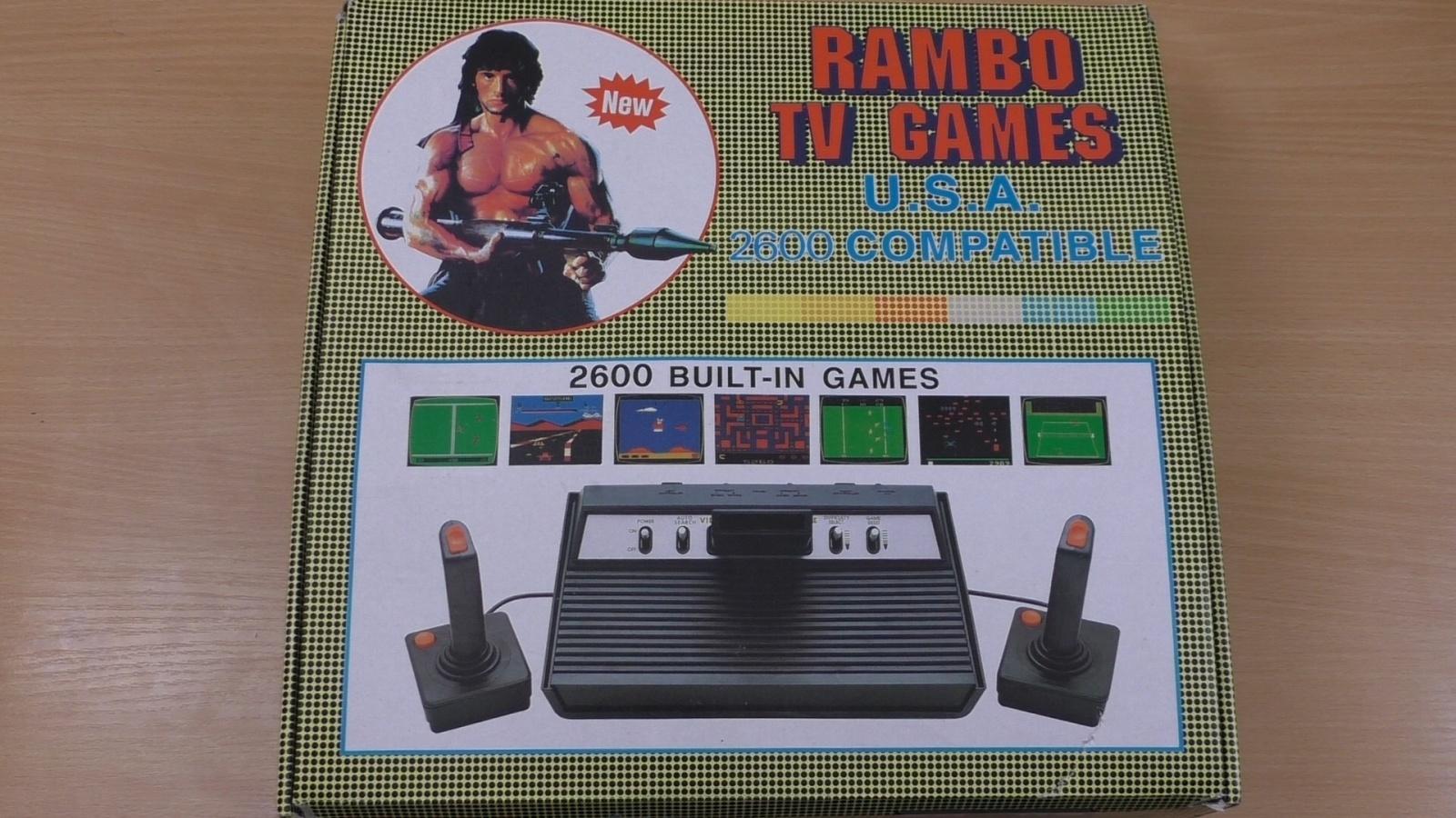 Rambo TV Games (Atari 2600) [статья с кучей фото и капелькой видео] - 4