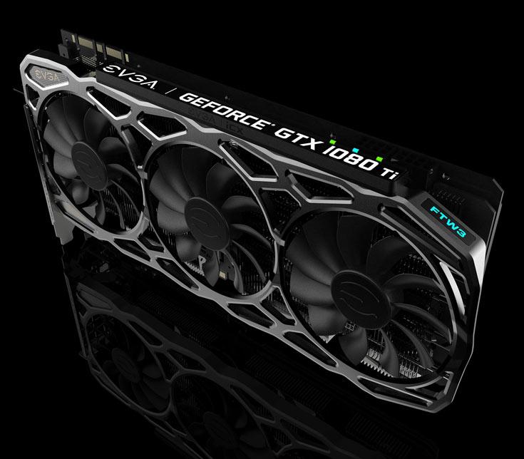 Когда 3D-карта EVGA GeForce GTX 1080 Ti FTW3 с системой охлаждения iCX появится в продаже и сколько она будет стоить — пока неизвестно