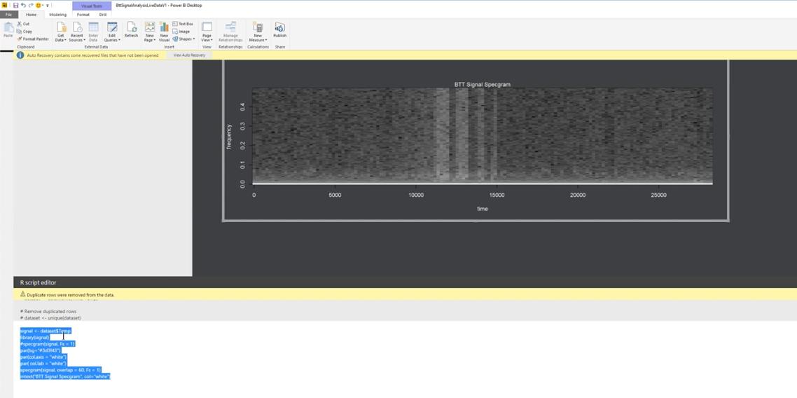 Power BI Embedded, IoT и машинное обучение для обработки термограмм мозга - 3