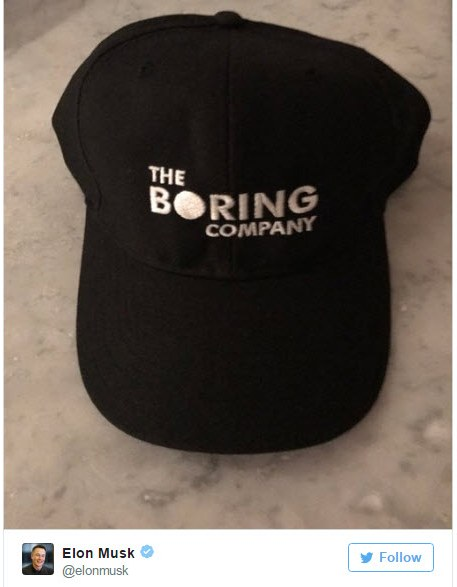 Илон Маск вновь напомнил о своей новой компании The Boring Company