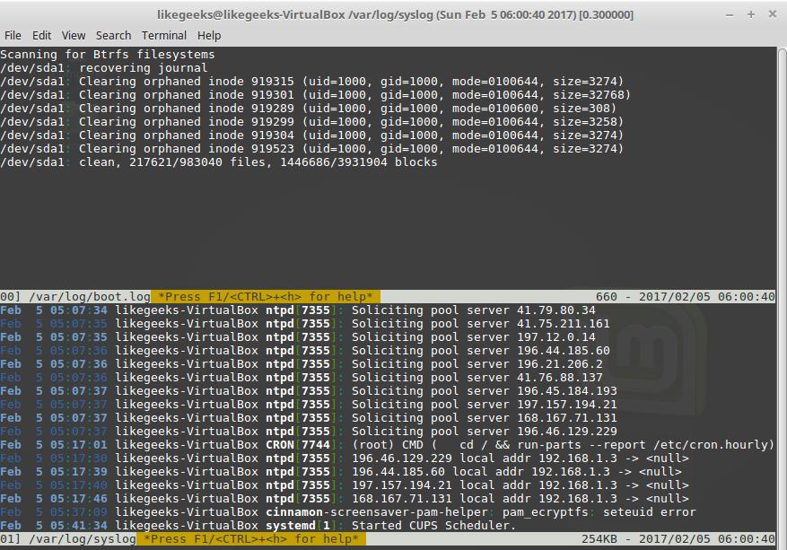 Самые полезные приёмы работы в командной строке Linux - 7