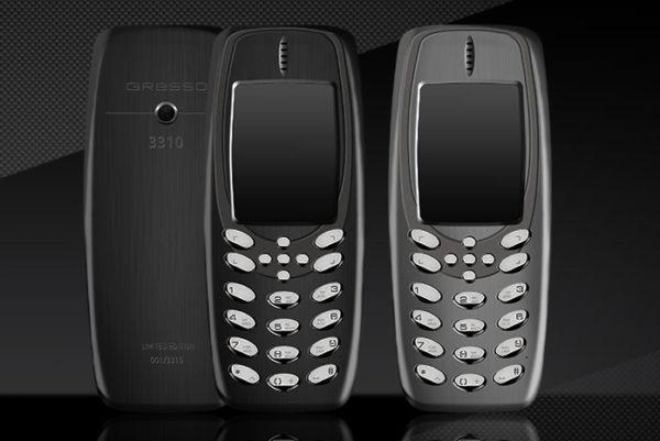 Телефон Gresso Presso 3310 обойдётся в 3000 долларов