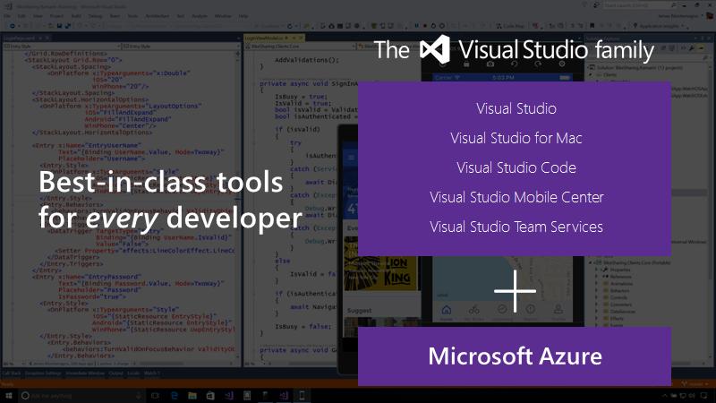 Visual Studio 2017 и новые возможности инструментов от Microsoft - 2