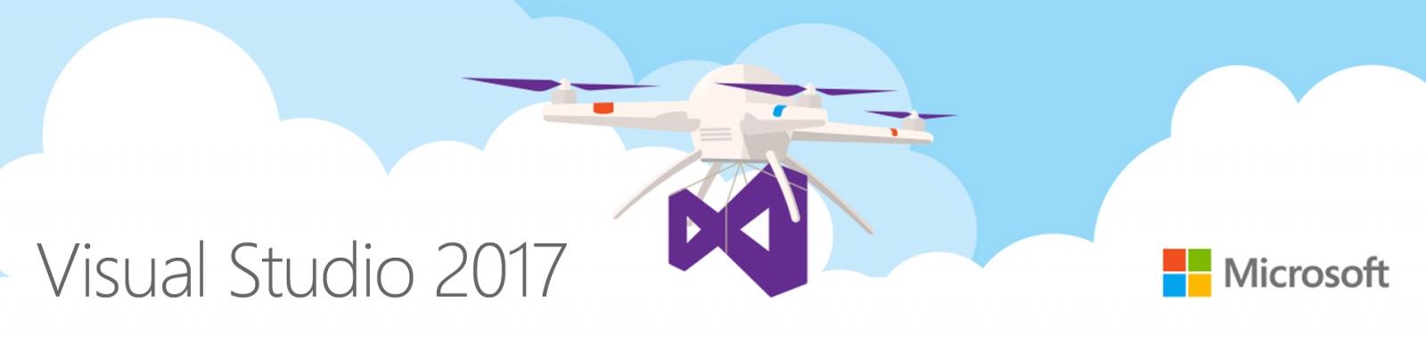 Visual Studio 2017 и новые возможности инструментов от Microsoft - 1