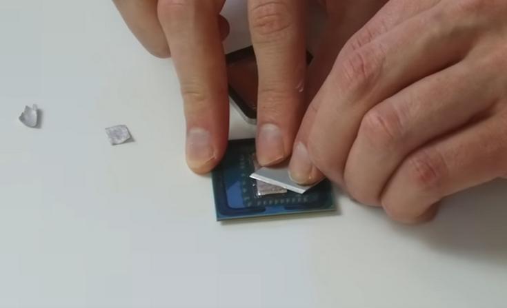 AMD использовала для CPU Ryzen отличный припой