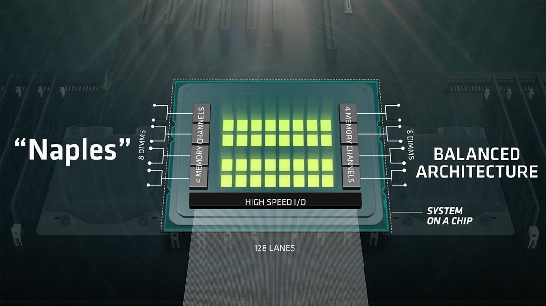 AMD анонсировала 32-ядерный серверный процессор Naples - 2