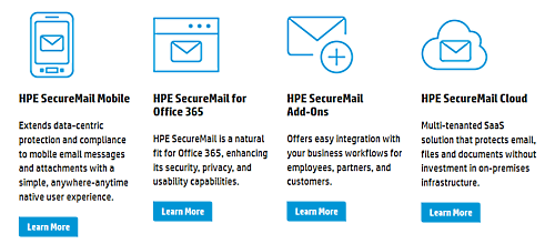 HPE SecureMail − лучшее ПО для безопасной электронной почты 2017 г - 2