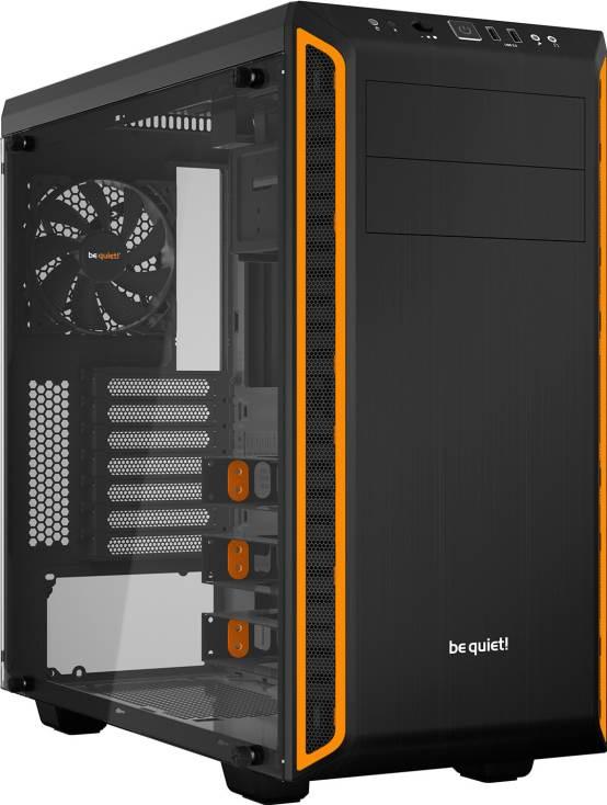 Компьютерный корпус be quiet! Pure Base 600 Window предложен в двух вариантах цветового оформления