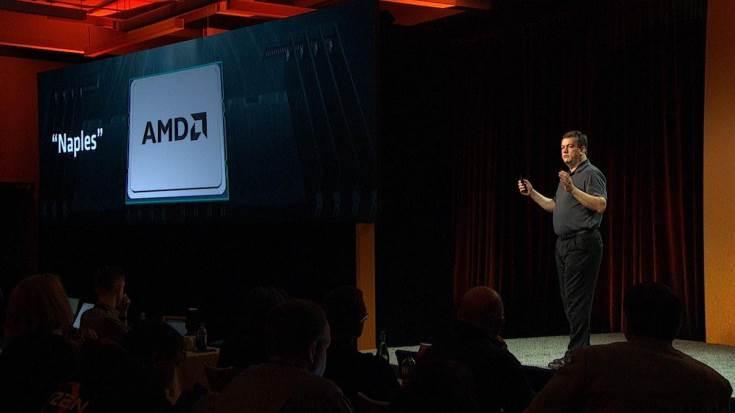 Производитель рассказал о серверном процессоре AMD Naples